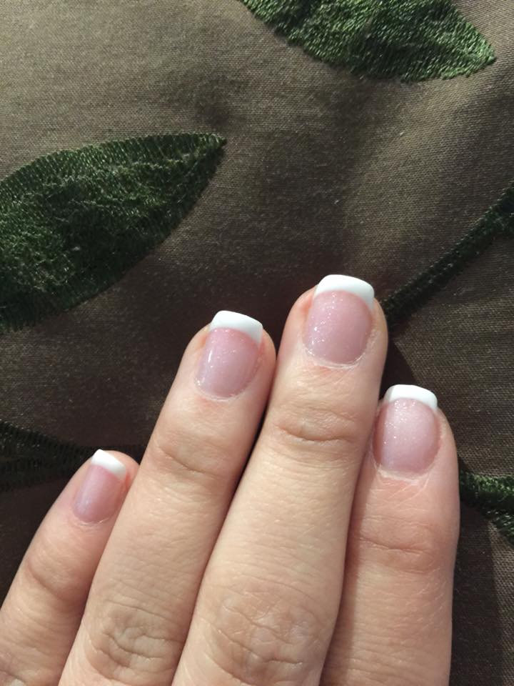 Regular french manicure