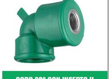 """Codo 90° Rosca Hembra IPS Fusión (20x1/2"""" a 32x1"""")"""