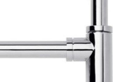 Descarga para lavatorio con sifón minimalista FV 0242.01