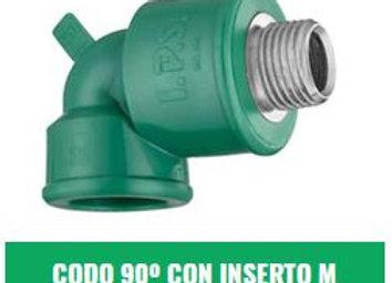 """Codo 90° Rosca Macho IPS Fusión (20x1/2"""" a 32x1"""")"""