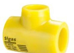 Tee Reducción Fusión Sigas de 25x20mm (32x20mm a 63x50mm)