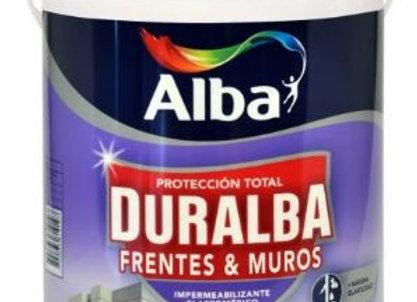 Latex ALBA Exterior Impermeabilizante Frentes y Muros - Blanco