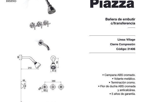 Grifería Ducha C/Transferencia Piazza Village 31406