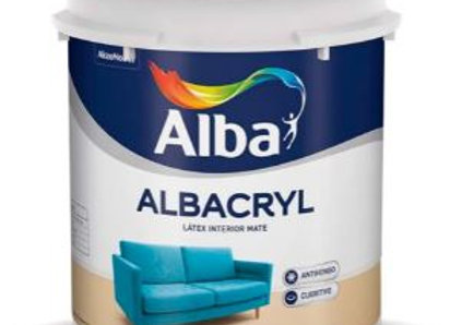Latex ALBA Interior ALBACRYL - Blanco