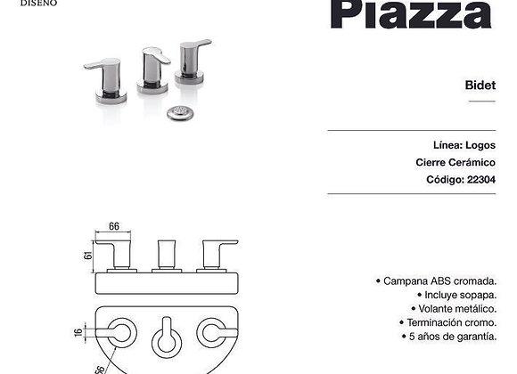 Grifería Bidet Piazza Logos 22304
