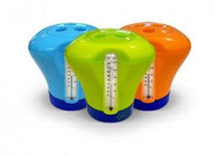 Boya dosificadora de cloro con termómetro Vulcano