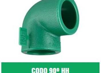 Codo 90° HH IPS Fusión (20mm a 63mm)