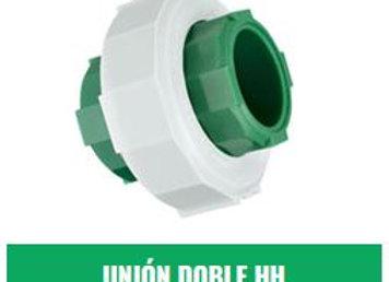 Unión Doble HH IPS Fusión (20mm a 63mm)