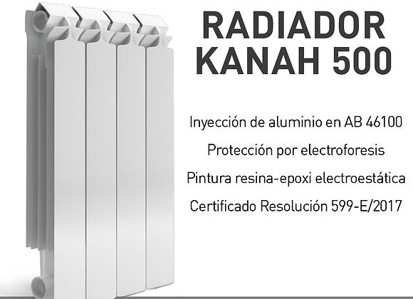 Radiador Calefacción Kanah 500 Latyn por Elemento