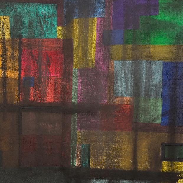 Patinas, 2017 | Acrílico, grafito en polvo, óleo en barra y tiza pastel sobre canvas | 120 x 100 cm.