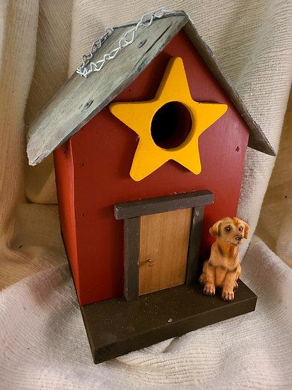 Dog Birdhouse