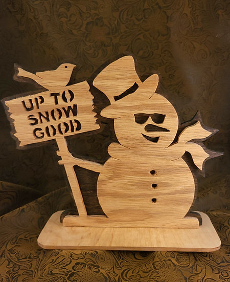 """Up To Snow Good"" Carving"