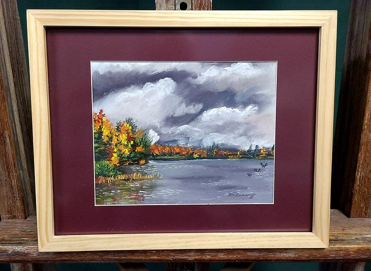 Looming Storm on Lake Simond