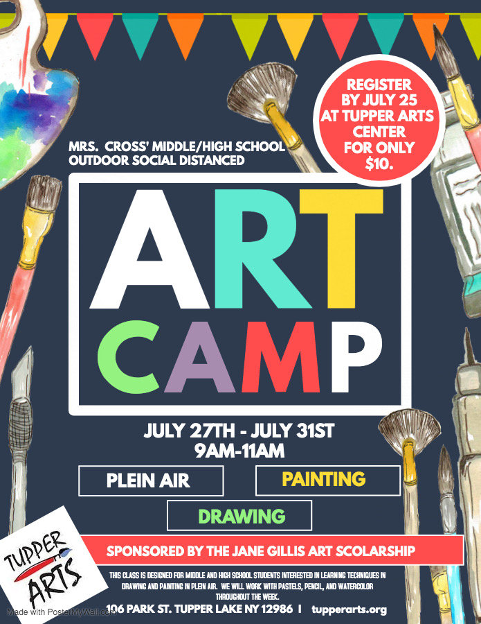 Copy of Art camp - Made with PosterMyWal