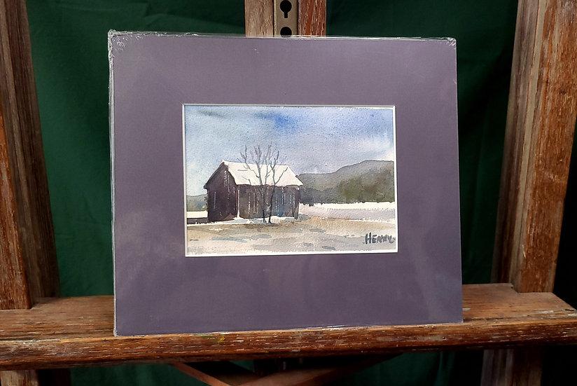 Lone Grey Barn
