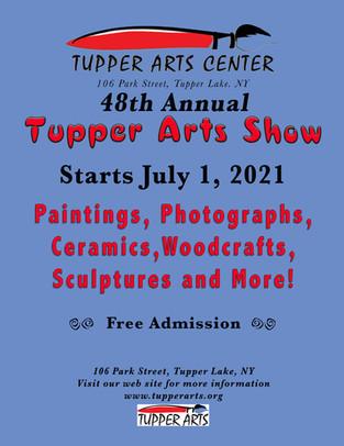 48th Annual Tupper Lake Arts Show Flier.jpg
