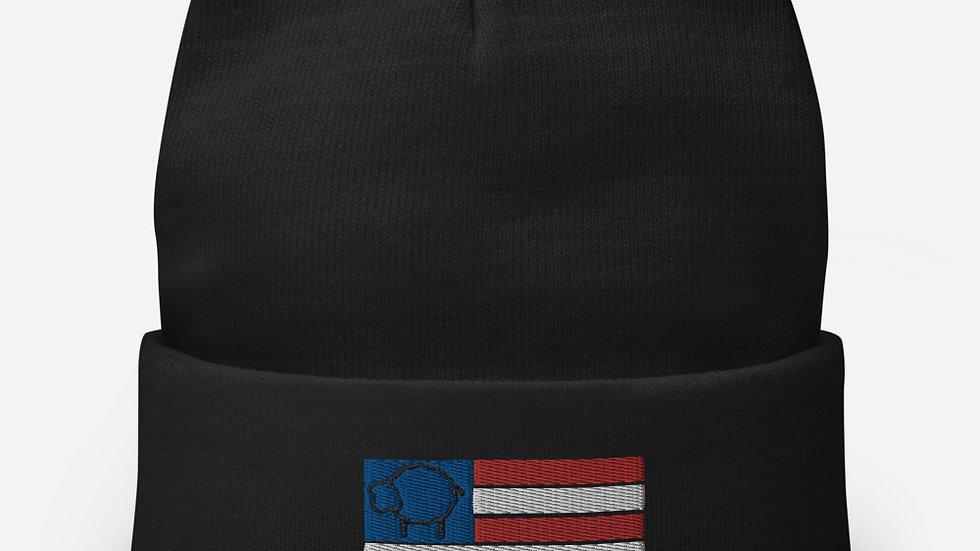 The Black Sheep Nation Patriot Beanie