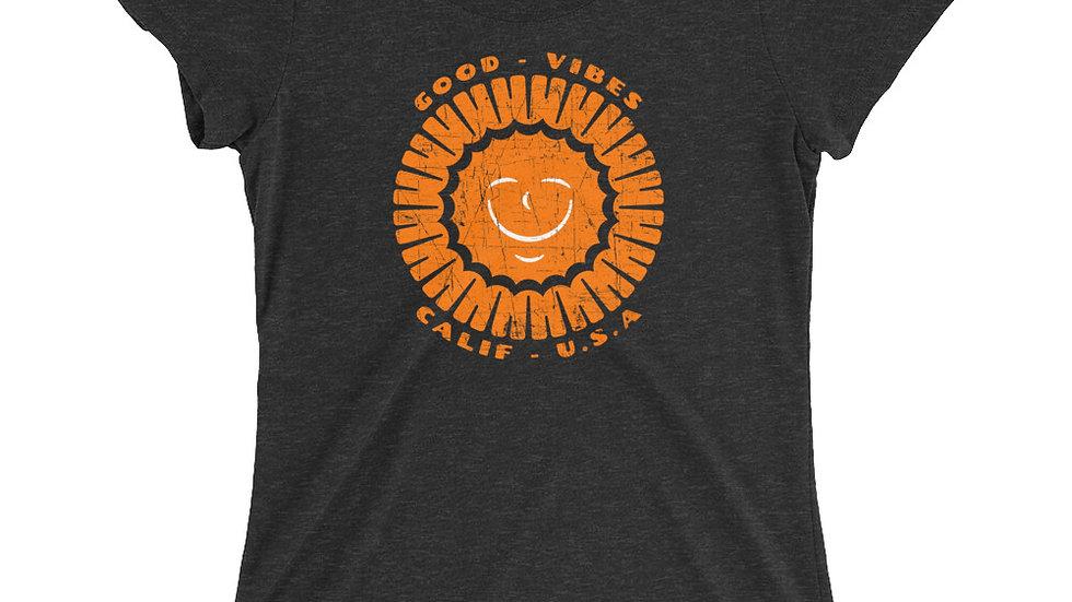 Women's Good Vibes Sunshine T-Shirt