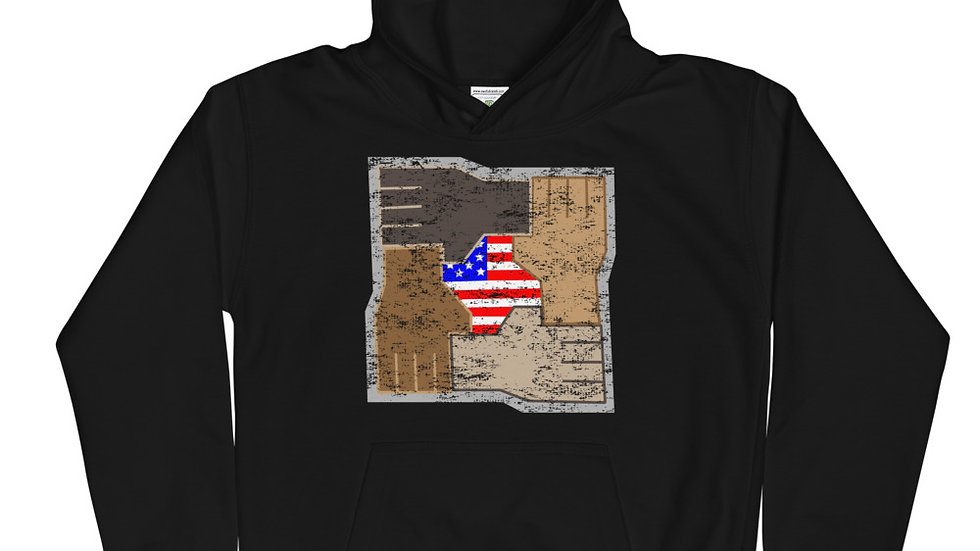 Youth United Strength of America Diversity Hoodie