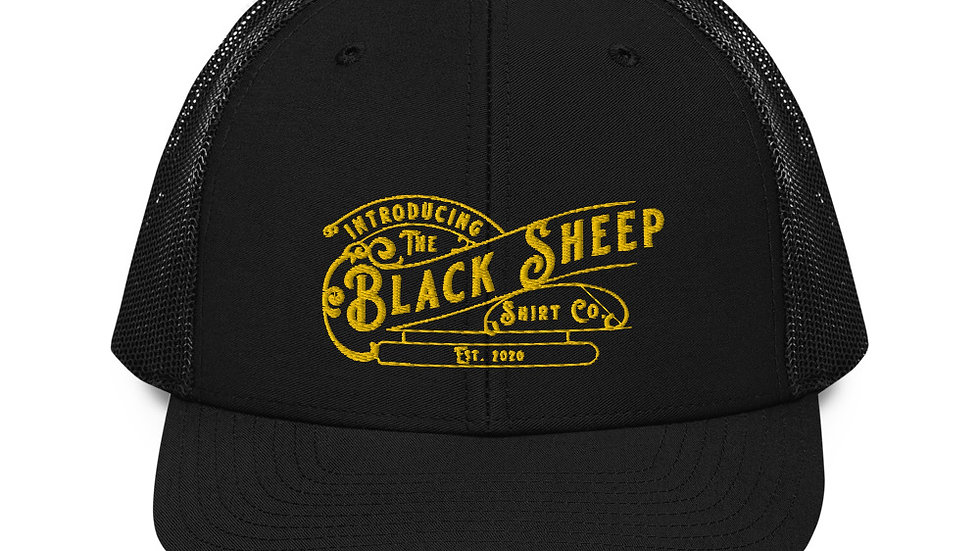 Black Sheep Shirt Branded Trucker Cap