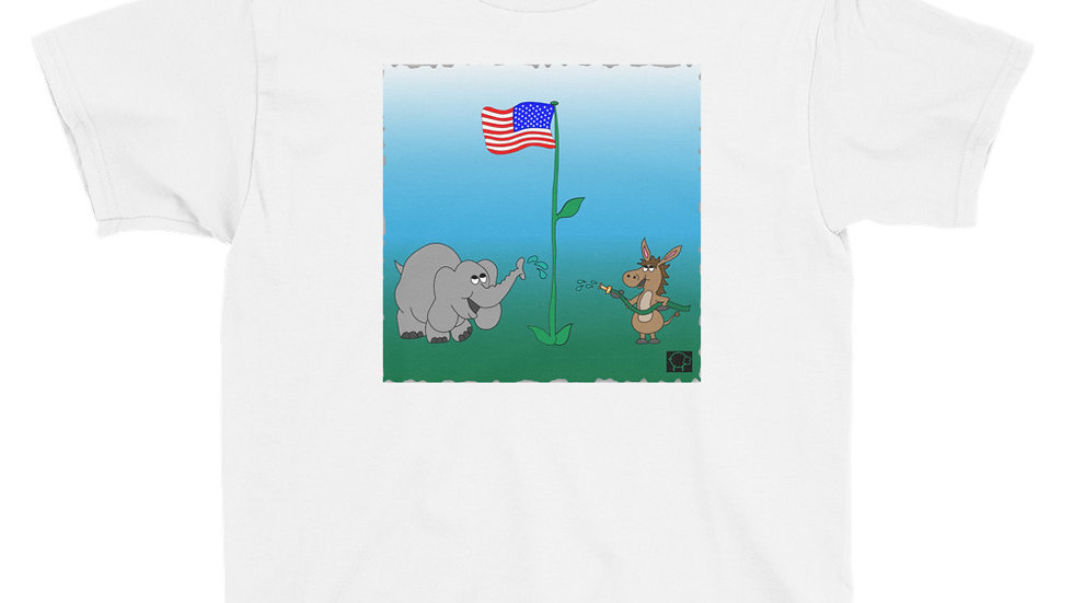 Youth United Strength of America Cooperation T-Shirt