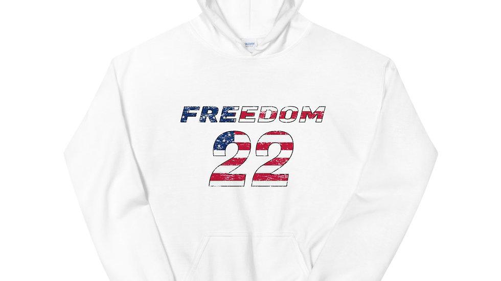 Freedom 22 for Veterans Hoodie