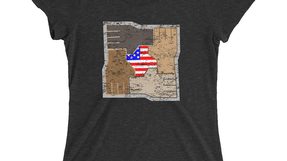 Women's United Strength of America Diversity T-Shirt