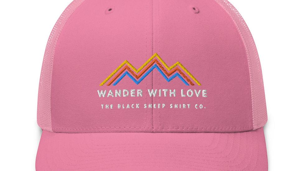 WANDER WITH LOVE Trucker Cap