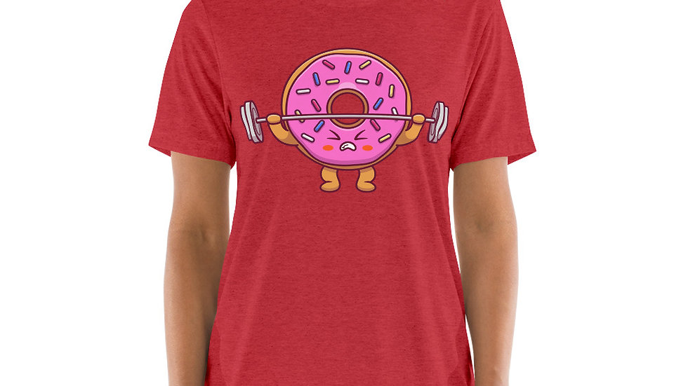 Donut Look Strong Ladies T