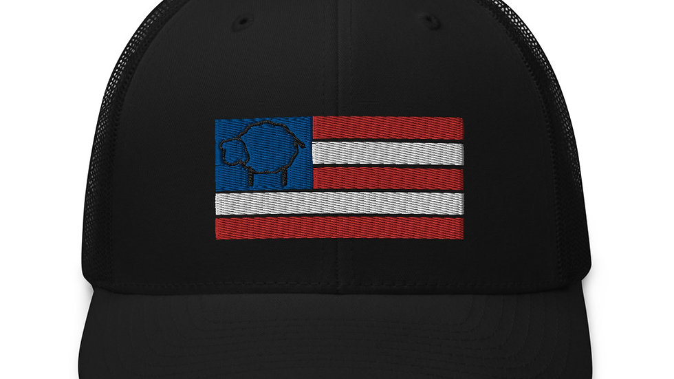 Black Sheep Nation Patriot Trucker Cap