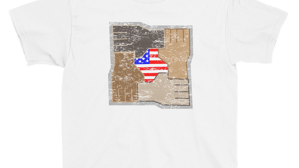 Youth United Strength of America Diversity T-Shirt