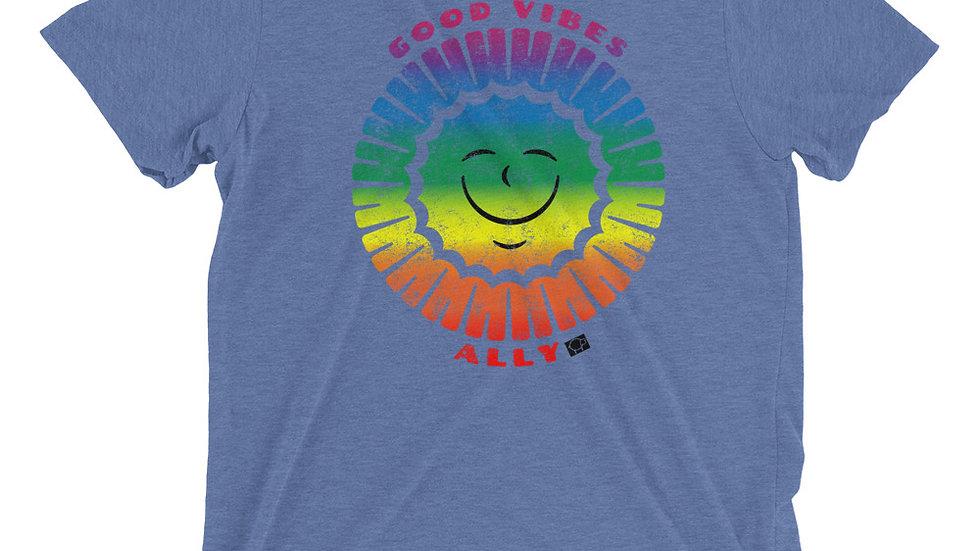 Good Vibes Rainbow Ally