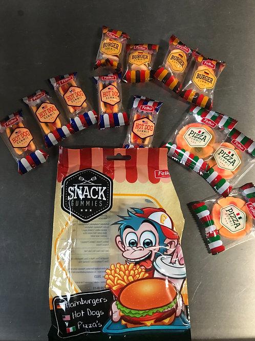 Snack gummies zak 11 stuks mini snacks