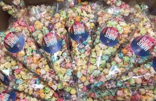 gekleurde popcorn redken