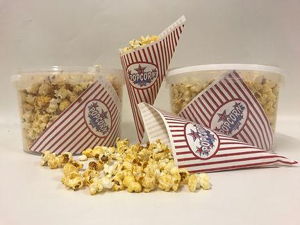 grote emmer popcorn met zajes