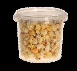 emmertje popcorn 1 liter blanco of logo.