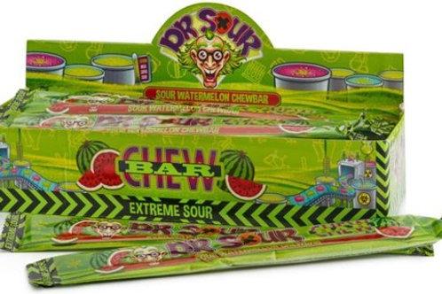 Dr Sour chewbar watermeloen