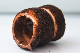 chimney cake met chocolade