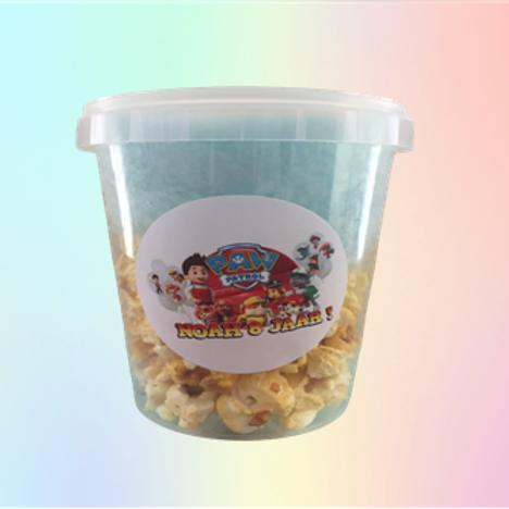 Popcorn + suikerspin 1 liter