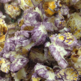 paarse popcorn
