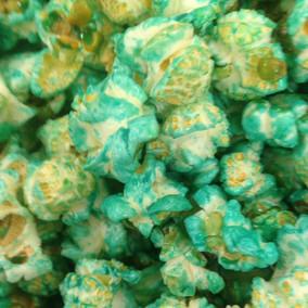 blauwe popcorn