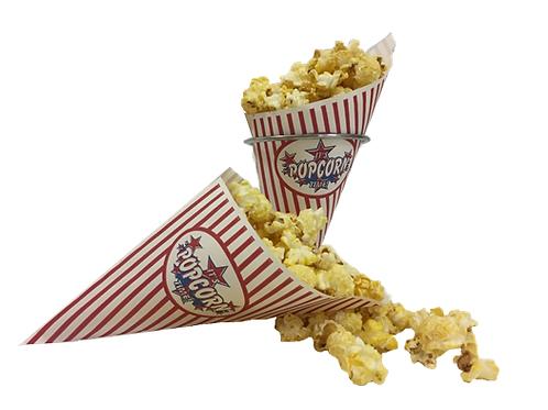 Papieren popcornzakjes K-21