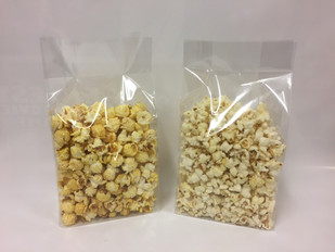 sta zakken popcorn blanco