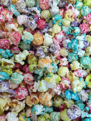 Bulk popcorn gekleurd