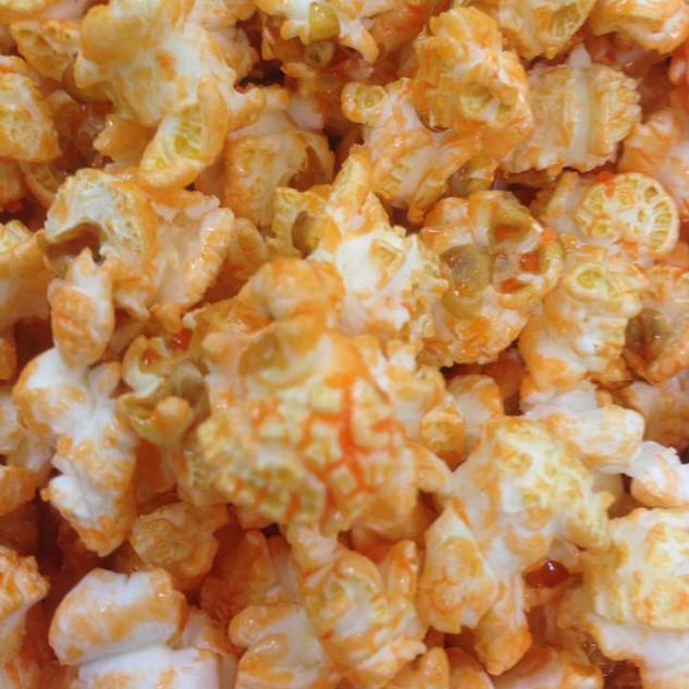 oranje popcorn
