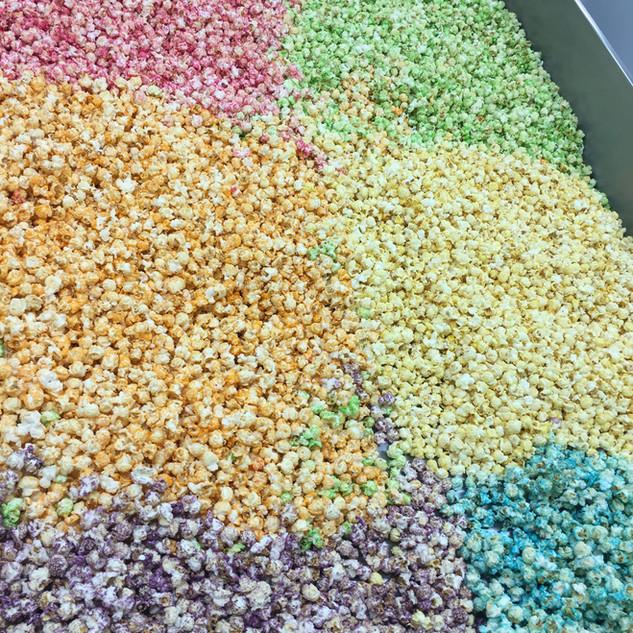 popcorn diverse kleuren