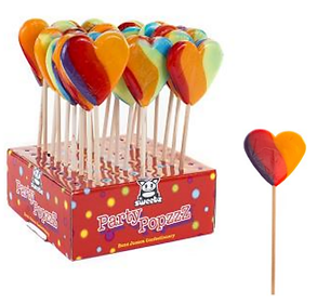 Hartjes lolly's Valentijnlolly