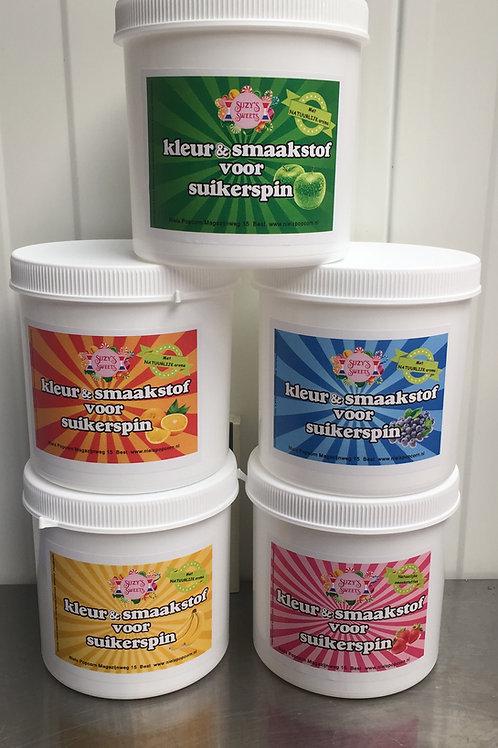 Kleurstof om suiker te kleuren