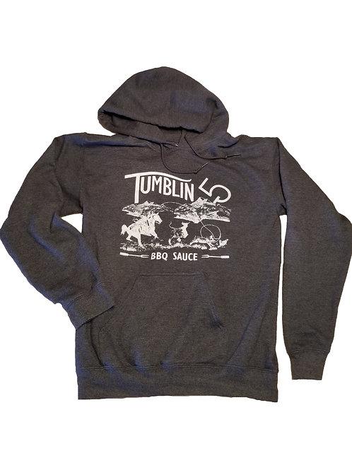 Tumblin 5 Charcoal Grey Hoodie