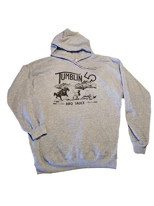 Tumblin 5 Light Grey Hoodie